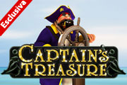 slot machine captain treasure
