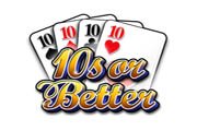 video poker ten or better